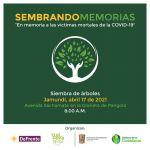 Plantarán árboles en memoria de los fallecidos por Covid