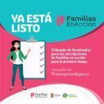 Consulte el listado de priorizados para inscripción a Familias en Acción