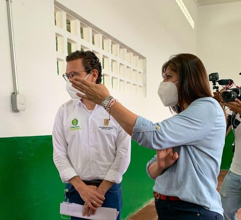 """I.E """"José María Córdova"""" de Timba luce espacios renovados"""