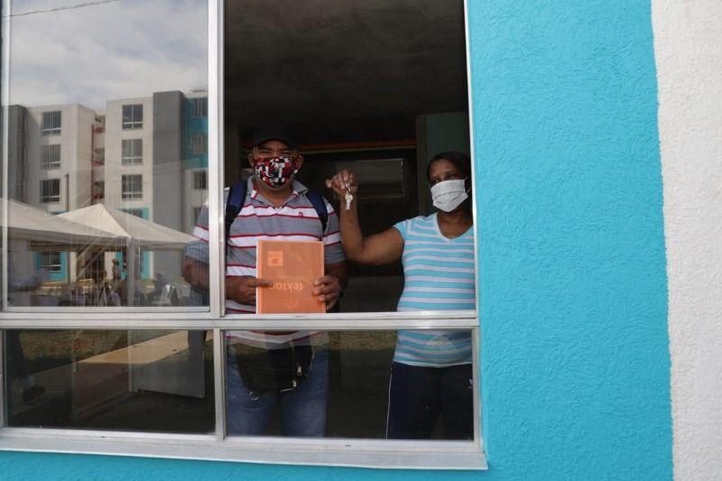 Primeros beneficiarios del Plan Jarillón recibieron sus apartamentos
