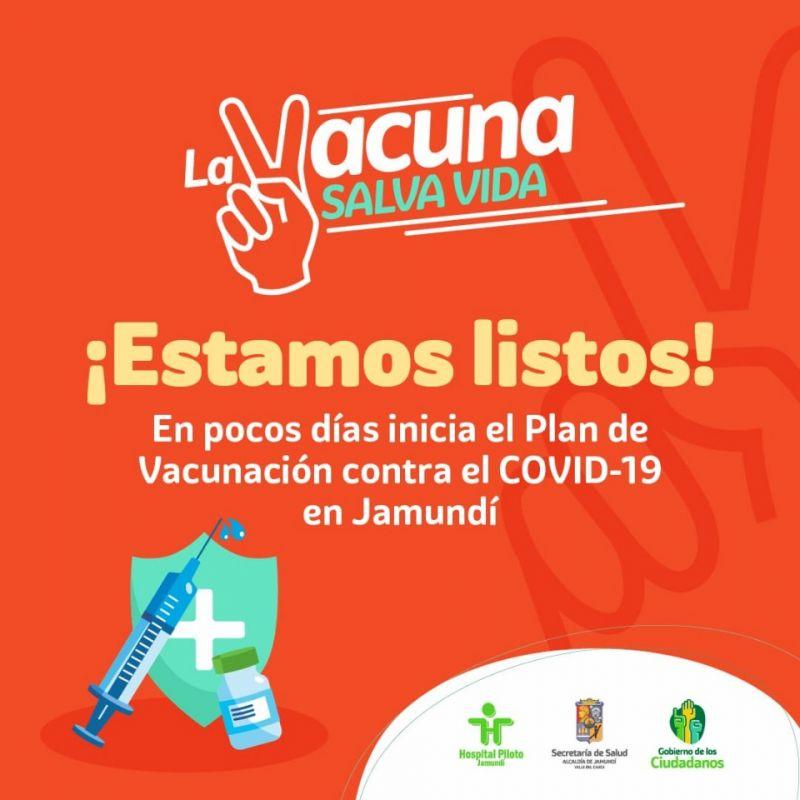 En primera fase Jamundí vacunará a más de 3.200 personas