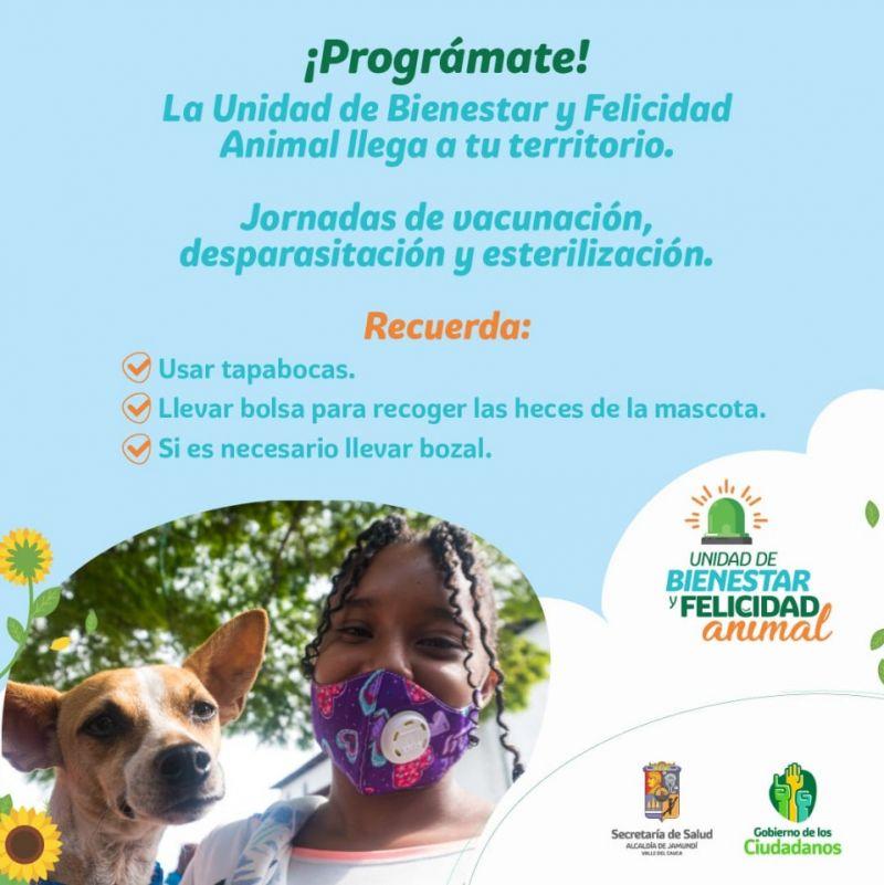 Este mes la Unidad de Bienestar Animal llega a seis comunidades