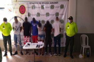 """Desarticulada banda """"Bocachico"""" que opera entre Jamundí y Puerto Tejada"""