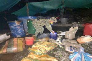 Localizan laboratorio clandestino para procesar drogas en Jamundí