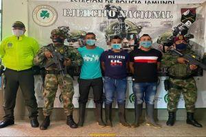 Caen tres integrantes del GAO-r Jaime Martínez señalados por varios crímenes en Jamundí