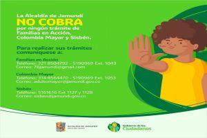 Alcaldía no cobra por trámites asociados a Familias en Acción, Colombia Mayor y Sisbén