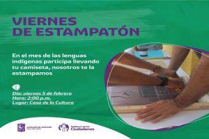 Viernes de serigrafía y estampado en la Casa de la Cultura