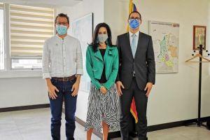 Alcalde de Jamundí cumplió agenda de trabajo en Bogotá