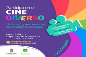 Cine Diverso llega para fortalecer la inclusión y la diversidad