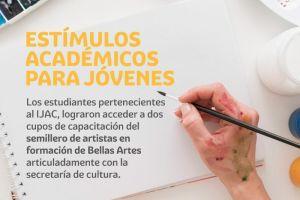 Bellas Artes brinda capacitación  a estudiantes del IJAC