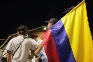 """""""Caminata de la Luz"""" llevó mensaje de paz y unidad en Jamundí"""